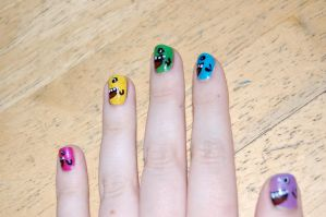 Monster Nails by BedraggledKitty