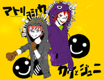 Matryoshka - Kai Kashine and Juni Ginkuro by pockypaint