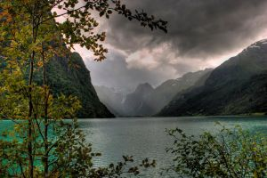 summer in norway by KatherineZe