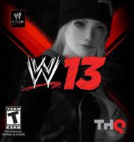 Tina On WWE '13 Poster by TheRumbleRoseNetwork