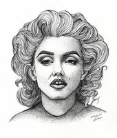 Marilyn Monroe by AliceParkes