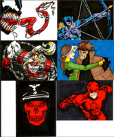 SketchCard Mambo- Red Marvel by AgarthanGuide