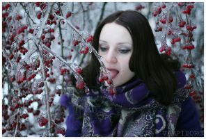 Russian winter 2011_18 and Me by VAMPIdor
