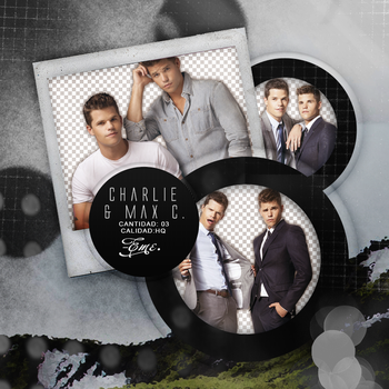 Pack png 288 // Carver Twins by ExoticPngs