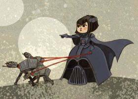 Lady Vader by theGorgonist