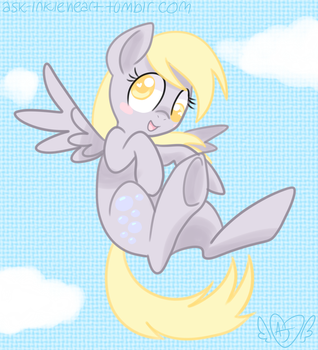 Derpy-chan by InkieHeart
