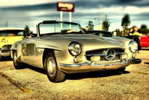 Mercedes-Benz 190SL by 100kt-tape