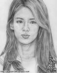 Hyoyeon Pencil Portrait 4 by BoAism
