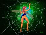 Fairy In A Web by Billie-Bonce