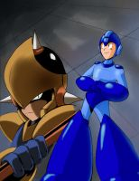 Megaman und Enker by General-RADIX