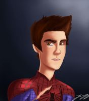 Andrew Garfield by BoukenRed