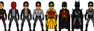 DCU Jason Todd Evolution by dannysmicros