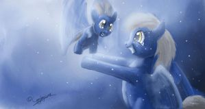 Derpy Whooves - First Flight - MLP Fanart by cayleycom