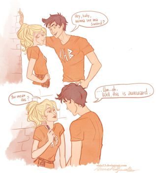 Percy's seducing skills by viria13