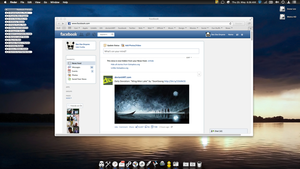Facebook redesigned by desosx