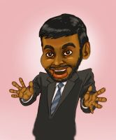 Tom Haverford by normandapito