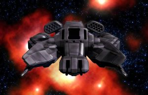 Gadfly Heavy Assault Fighter 01 by MADMANMIKE