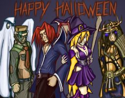 Happy halloween 2009 by dark1992