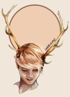 EXO:: Deer of the Dawn by renkaz