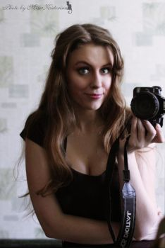Home cosplay Bela Talbot by MisaKaterina