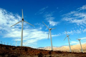 Palm Springs Windmills by stevecliff