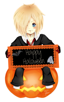 Ruki .Happy Haloween by ScouserScream