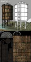 Water Tower by Conglaci