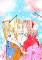 Ino x Sakura - Spring Love by Autumn-Sacura
