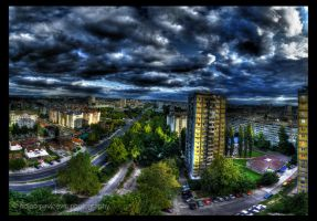 Belgrade panorama HDR by Bgranny