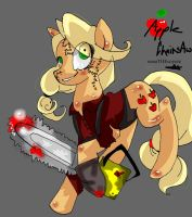 Apple chainsaw by NanaTHECoyote