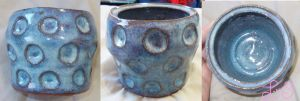 Cup with circles by chkimbrough