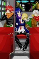 DGM bus travel by marisss-shonen-ai