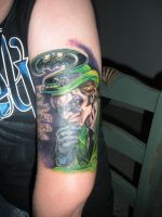 Riddler Tattoo by ZDaniel165