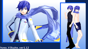 MMD hzeo kaitoV3 version up by hzeo