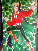 Alan Scott by danablackarts