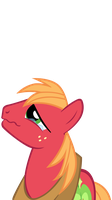 Big Macintosh tears vector by totalcrazyness101