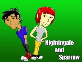 Nightingale and Sparrow by PaulSkywalker