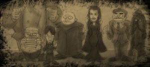 The Addams Family by theEyZmaster