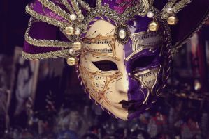Italian Masks by Maddie-Marie