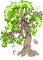 Giving Tree WIP 2 by LadySquall
