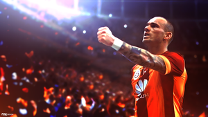 Sneijder Wallpaper by OFKDesign