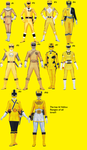 Top 10 Yellow Rangers Of All Time by Starartista87