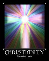 Christianity original t party by LightDemonCodeH