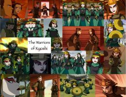 Kyoshi Warriors Collage by JackieStarSister