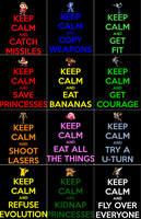 KEEP CALM AND SMASH BROS by clockworkMelody