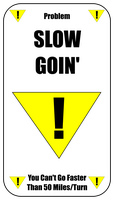 Slow Goin' Card For Zombie Run Game by flowofwoe