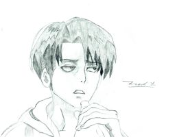 Levi - Attack On Titan by Frost-Guardian