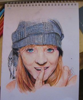 Lucy Rose - Portrait by CurlyWurly808