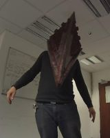Pyramid Head. He like clothes by Dax79