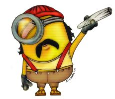 Cheech Minion by AlVarelaArt